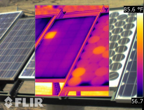 Detecting problems with solar cell arrays
