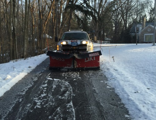 "A little fun, when we plow ""We Do Own The Road"" and get the job done right"