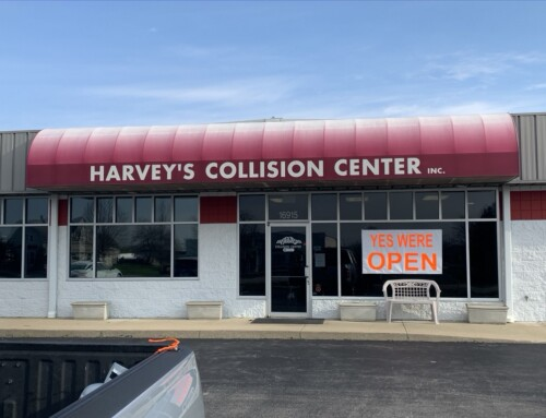 Harvey's Collision Center, is our second, Small Business Spotlight.